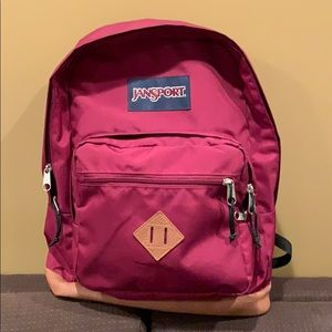 Jansport Burgundy Backpack